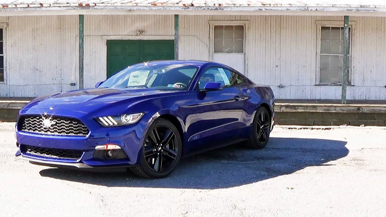 2016 ford mustang ecoboost review doovi. Black Bedroom Furniture Sets. Home Design Ideas