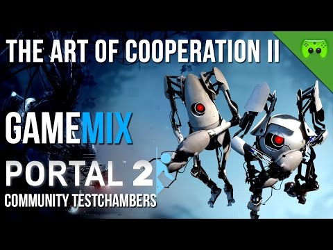 PORTAL 2 - GameMix - The Art of Cooperation 2 «»  Let's Play Portal 2 | Deutsch Full-HD