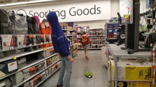 Theft in Sporting Goods.