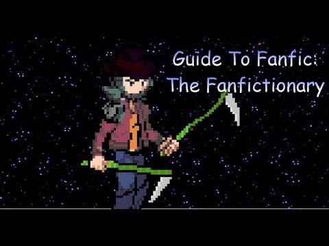 Guide to Fan Fiction: The Fan Fiction Dictionary