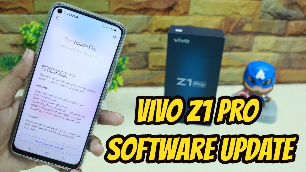 Vivo Z1 Pro Software Update FIXED 4 PROBLEMS , Brings Camera