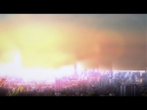 London Nuclear Attack Explosion (After Effects VFX) 60FPS
