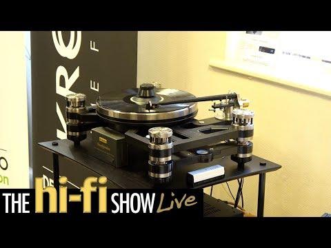 Kronos Turntable Raidho Van Den Hul Magneplanar Audio Analogue Decent Audio @ Hi-Fi Show Live 2017