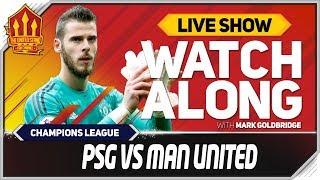 PSG Vs Manchester United L VE Match Chat