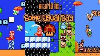 Mario in: Some Usual Day [#3] • Super Mario Bros. 3 ROM Hack (Playthrough)