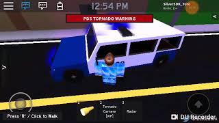 Tornado simulação 2 Police Edition [Roblox]
