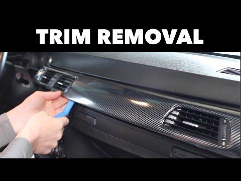 Interior Trim Removal For Wrapping Bmw E90