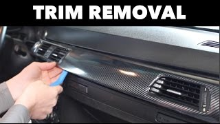 Interior Trim Removal for Wrapping // BMW E90