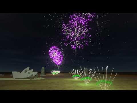 Sydney 9pm family fireworks NYE 2018/19