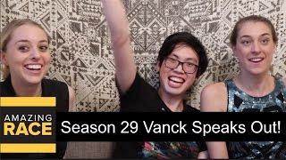 THE AMAZING RACE Season 29 Vanck on being U-Turned!
