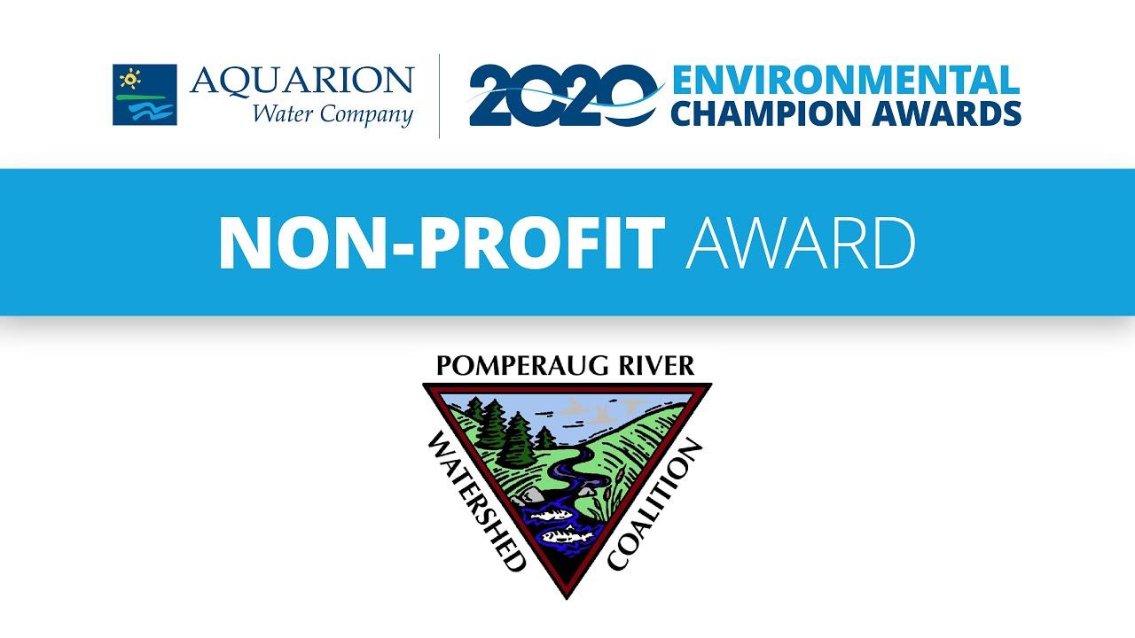PRWC Named Aquarion Environmental Champion