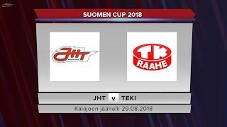 JHT - TeKi 29.08.2018 Suomen Cup maalikooste