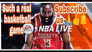 🔥NBA Live awesome android game 👌( game play ) || by author of gamers