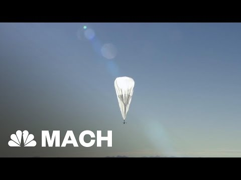 Alphabet Is Helping Bring LTE Connectivity To Puerto Rico With Project Loon | Mach | NBC News