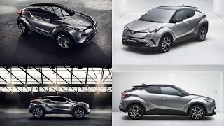 2017 Toyota CHR first Concept Vs Toyota CHR Finalized Concept
