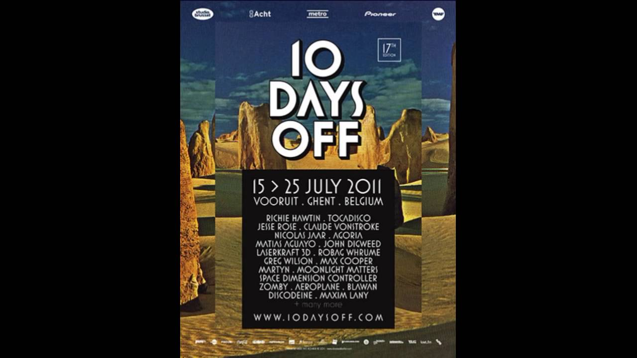 To go off in 10 days