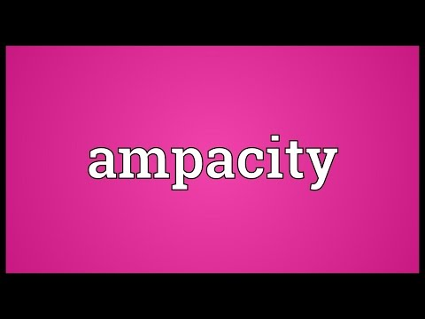 Ampacity Meaning