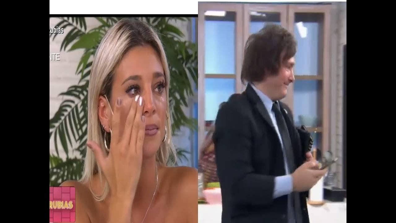 Download Sol Pérez se larga a llorar y echan a Javier Milei del programa- 18/03/19