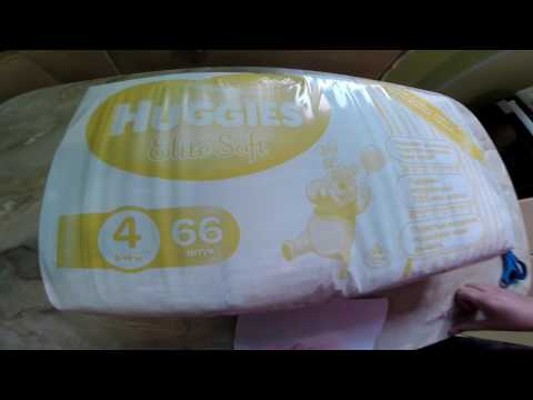 Подгузники Huggies Elite Soft 4 8-14 кг 132 шт (5029054566220)