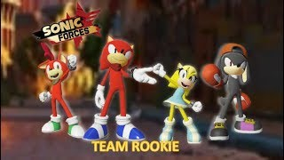 Sonic Forces Team Rookie
