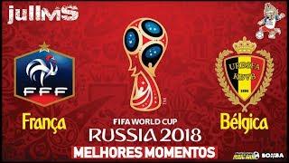 França x Bélgica - MELHORES MOMENTOS 10/07/2018 - COPA DO MUNDO 2018