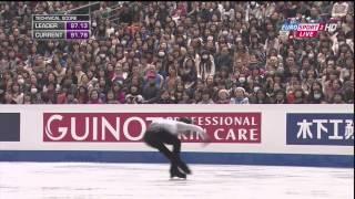 2013年、グランプリ・ファイナル羽生結弦選手のフリー・スケート、ブリ...