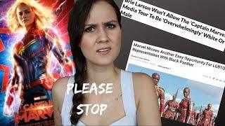 No whites or men allowed! (Marvel said so)