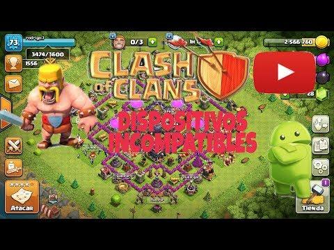 Clash Of Clans Para Dispositivos No Compatibles Android