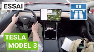 Essai détaillé de la TESLA MODEL 3 + recharge ultra-rapide sur Ionity