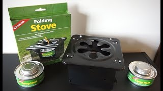 Coghlans Folding Stove and Camp Heat Review...Will it boil water?