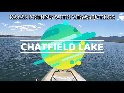 CHATFIELD LAKE COLORADO / HOBIE OUTBACK 2019 KAYAK FISHING
