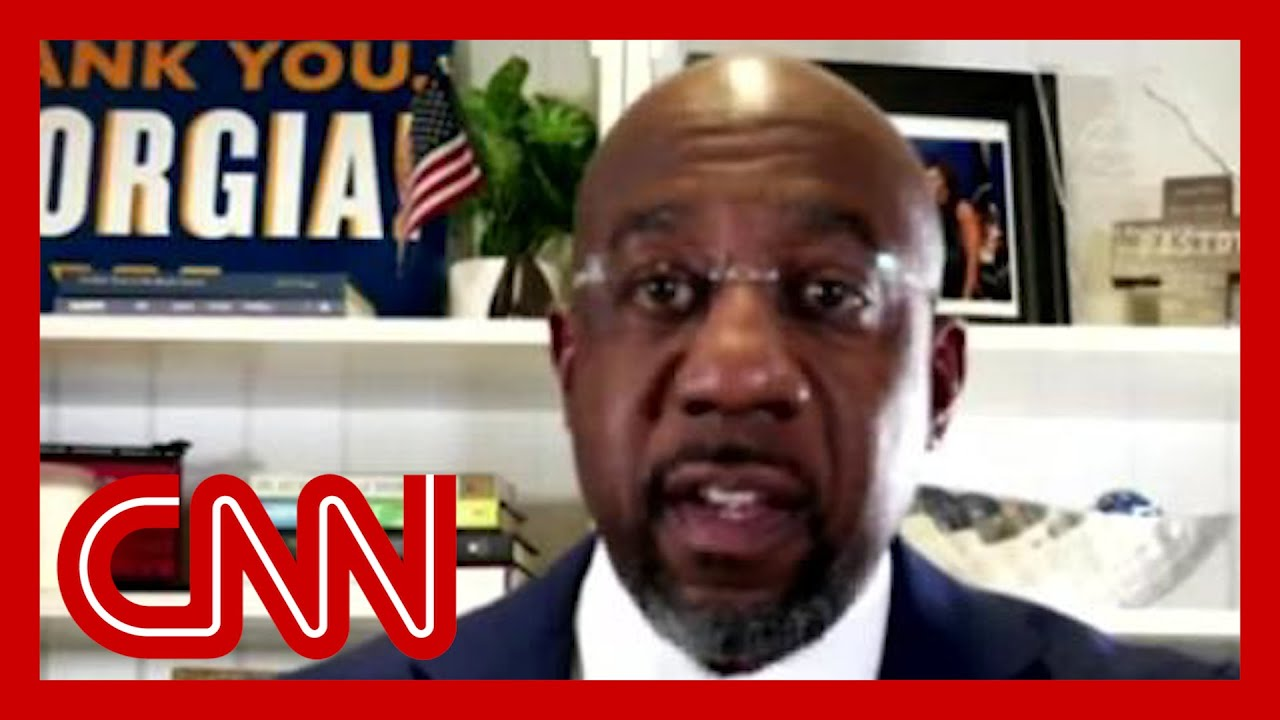 CNN projects Rev. Raphael Warnock wins runoff to become first Black senator from Georgia