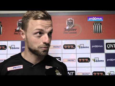 Réactions d'après match R.Charleroi S.C. - R.S.C Anderlecht