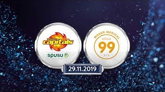 EBEL, 22. Runde: Vienna Capitals - Graz 99ers 4:2