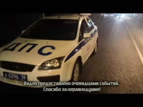 Пьяный подполковник УСБ заснул за рулём посреди дороги | ИДПС Воронеж
