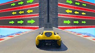Este MAPA de GTA 5 es IMPOSIBLE!!! 😱🤯 CARRERA de GTA V ONLINE con los COMPAS #2
