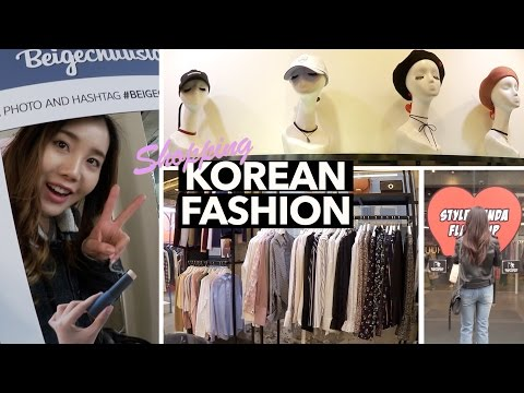 Shopping for Korean Fashion with Amy from Vagabond Youth 👯