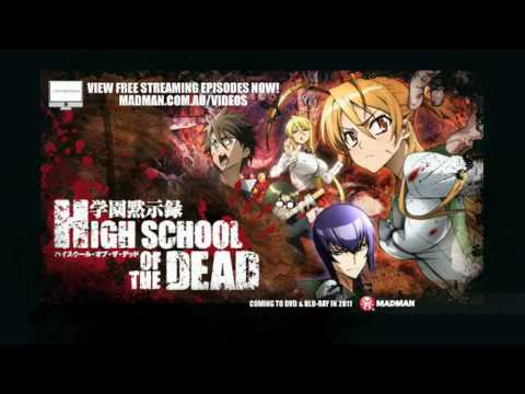 High School Of The Dead Trailer Youtube