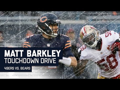 Matt Barkley Drives the Bears Down the Field for a TD! | 49ers vs. Bears | NFL