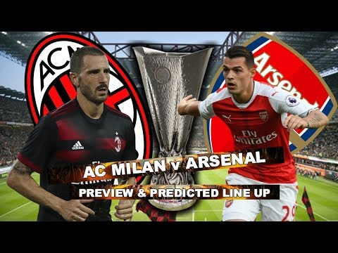 AC MILAN v ARSENAL - I AM NOT EXPECTING ANYTHING FROM THIS GAME - MATCH PREVIEW