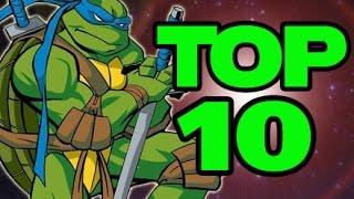 Top Ten Ninja Turtles Video Games