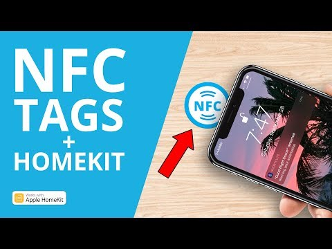 Control Your Home With NFC Tags + HomeKit In IOS 13!