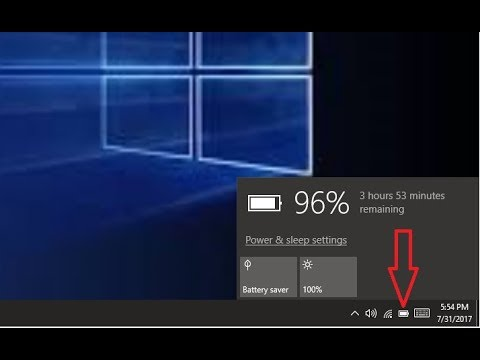 How to Restore a Missing Battery Icon in Windows 10 - Simply