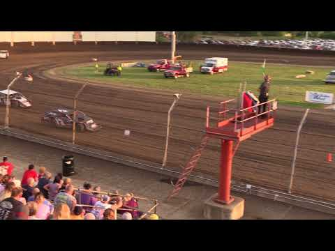7 3 18 UMP Modifieds Heat #2 Kokomo Speedway