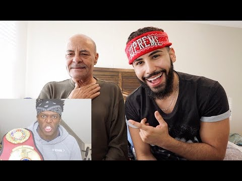 MY DAD REACTS TO KSI TALKING CRAP ABOUT ME!!!