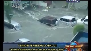 On The Spot - 7 Banjir Terbesar Di Abad 21