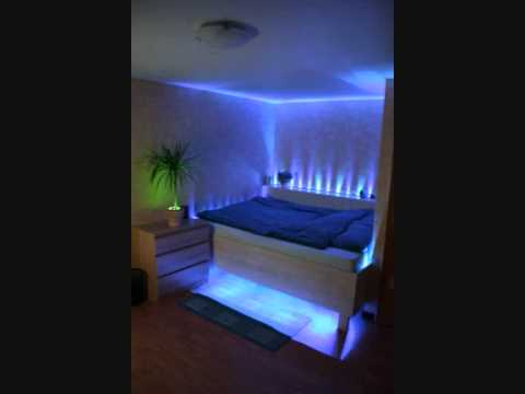 led bettbeleuchtung youtube. Black Bedroom Furniture Sets. Home Design Ideas