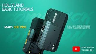 Hollyland Mars 300 PRO Wireless Video Transmission System Dual HDMI GARANSI RESMI