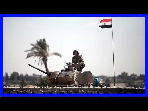 News-Israel warning level on the border of Egypt