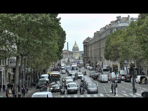 Paris France Rue Royale